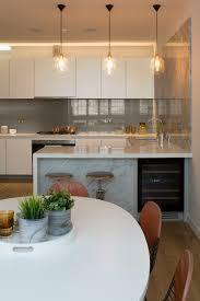 Kitchen Island Worktops Uk Handleless Kitchen White Recon Worktop Grey Marble