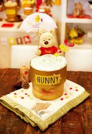 Modern Mommy Baby Shower Theme - classic modern winnie the pooh baby shower diapers babies and