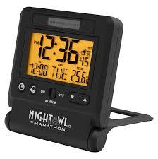 best light up alarm clock best travel alarm clocks in 2017 tested reviewed travel alarm