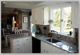 Oak Kitchen Furniture Unfinished Oak Cabinets Marble Countertops Kitchen Colors With