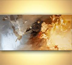 prints painting silver abstract art home decor 7778