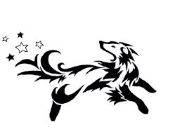 tribal tattoos designs of a dog google search tribal tattoo
