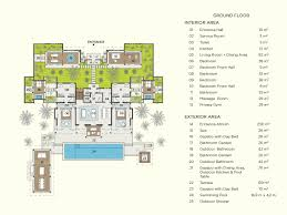 Massage Spa Floor Plans by Velaa Private Residence Velaa Private Island