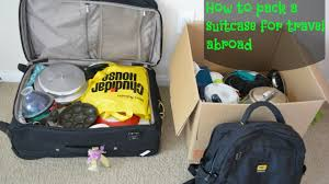 united check in luggage how to pack a suitcase while travelling from india to abroad youtube