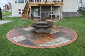 patio landscaping slate patio stones with pea stone gravel a