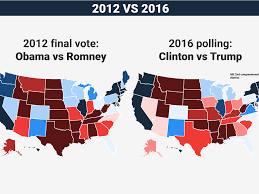 Create Electoral Map Electoral College Map Projections Clinton Vs Trump Business
