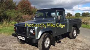 range rover defender pickup land rover defender 110 hi capacity pick up for sale youtube