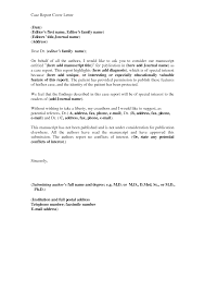gallery of report cover letter example best letter sample cover
