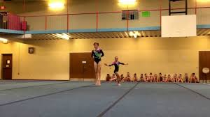 Dynamic Sports Flooring by Aerials Athletics Invitational Level 8 Wp Naomi And Tatianna