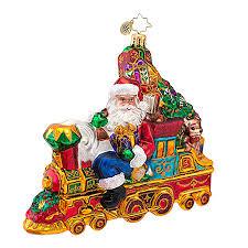 radko ornaments 2014 radko train ornament all aboard for christmas