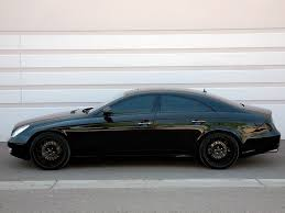 maserati blacked out blacked out benz cls 20