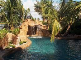 pools with waterfalls pool waterfalls allstate pool spas