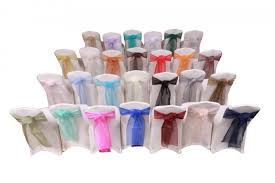 organza sashes rent chair sashes lakes region tent event
