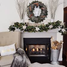 How To Decorate My Home by Tips For How To Decorate A Christmas Mantel U2014 2 Ladies U0026 A Chair
