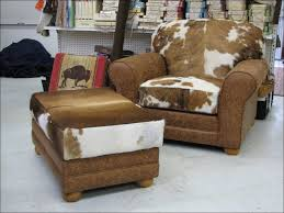 furnitures ideas awesome cowhide loveseat cowhide office chair