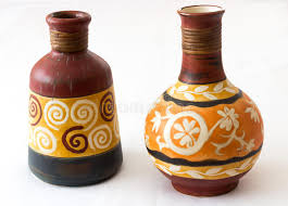 ornamental vases stock image image of colored colorful 35744899
