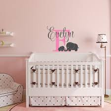 online get cheap mothers sticker aliexpress alibaba group personalized custom name vinyl wall stickers mother son elephant decal kids room baby nursery