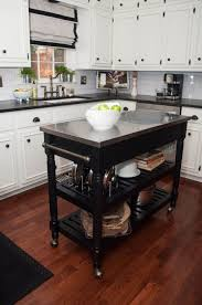 kitchen portable kitchen island with seating and 16 white