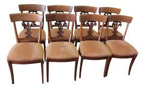 Fleur De Lis Patio Furniture Roche Bobois Fleur De Lis Dining Chairs Set Of 8 Chairish