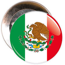 Mexico Flag Symbol Mexico Flag Badge U2013 The Badge Centre