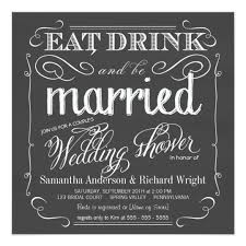 Wedding Shower Invites Chalkboard Couples Wedding Shower Invitations Zazzle Com