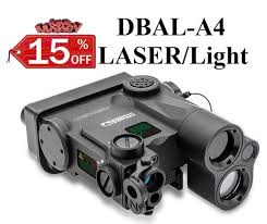 laser and light combo dbal a4 class 1 ir green or red dual beam aiming laser wholesale
