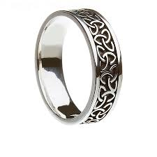celtic rings meaning jewelry rings aislinn unisex knot ring wedding