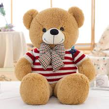 Cute American Flag Shirts American Flag T Shirt And Plaid Bow Tie Dressed Light Brown Teddy