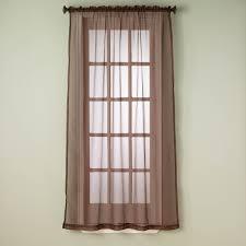 simply perfect fontana sheer window curtain panel 54 x 84