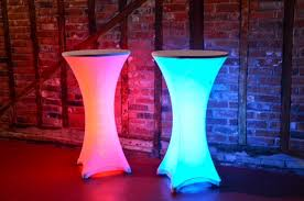 Led Bistro Table Led Bistro Table Chene Interiors