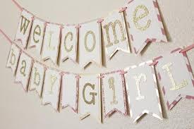 baby shower banner pink and silver baby shower banner jacqscraftycorner