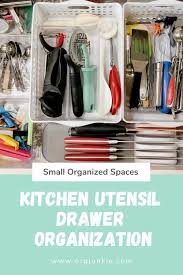 how to organize kitchen utensil drawer small organized spaces kitchen utensil drawer organization