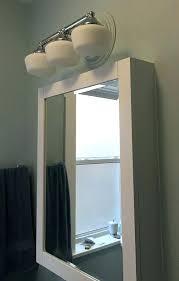 recessed medicine cabinet with lights light above medicine cabinet bathroom medicine cabinets with lights