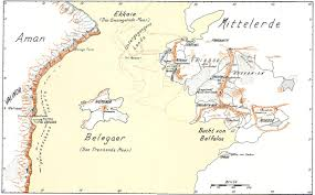 Map Middle Earth Aman Numeron Middleearth Middleearth Pinterest