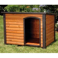 slant roof slant roof solid wood outdoor dog house 33l x 24w x 22h inch