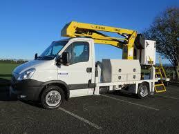 versalift lat38 on class 1 iveco daily waimea truck and crane