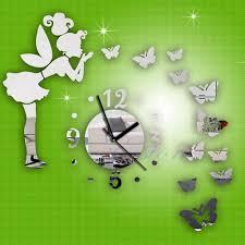 online get cheap wall clock decal aliexpress com alibaba group