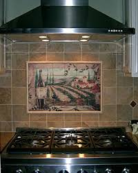 kitchen tile murals backsplash tile mural kitchen backsplash