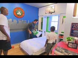 Extreme Home Makeover Bedrooms Extreme Makeover Home Edition Charles Dunks On Ray Allen Youtube