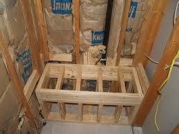 Building A Bathroom Shower Building A Shower Seat Modern Hd