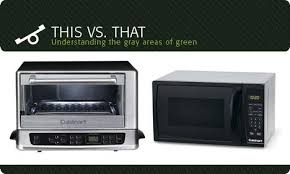Reheating Pizza In Toaster Oven Microwave Or Toaster Oven Which Is The Greener Kitchen Gadget