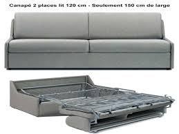 canap convertible 120 cm de large articles with canape lit 120 cm largeur tag canape convertible 120