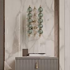 Art Deco Wall Lights Italian Murano Glass Art Deco Inspired Wall Light Juliettes