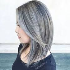 step 2 in transitioning to her natural grey facebook hair by