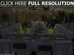 Small Backyard Reception Ideas Remarkable Small Backyard Wedding Reception Ideas Pictures Design