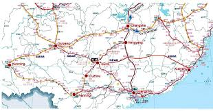 Kunming China Map by High Speed Train To Arrive In Guilin This Year Guilin
