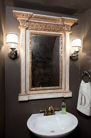 Ornate Bathroom Mirror Coolest Ornate Bathroom Mirror For Home Remodeling Ideas With