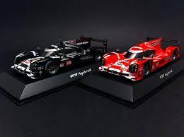 duo porsche 919 hybrid le mans 2015 n 919 red black 1 43 spark