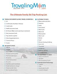 Colorado How To Fold A Suit For Travel images The ultimate family ski trip packing list downloadable list jpg