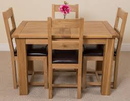 Dining Room Furniture Rochester Ny Solid Oak Dining Table 4 Chairs Interior Design